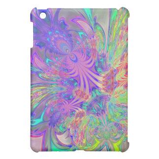 Glowing Burst of Color iPad Mini Covers