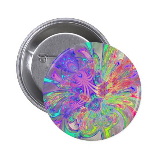 Glowing Burst of Color Pins