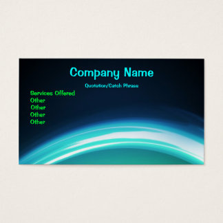 Glowing business Card