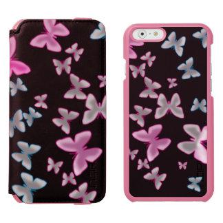glowing butterflies iPhone folio wallet case Incipio Watson™ iPhone 6 Wallet Case