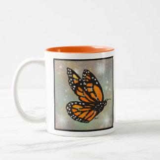 Glowing Butterfly Mug