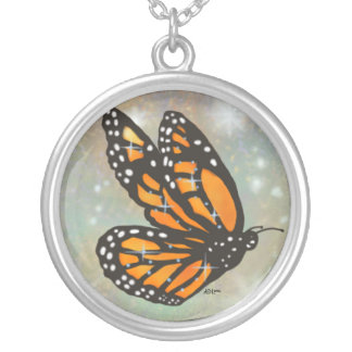 """""""Glowing Butterfly"""" Necklace"""