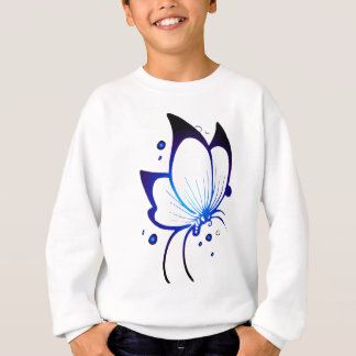 Glowing Butterfly Sweatshirt