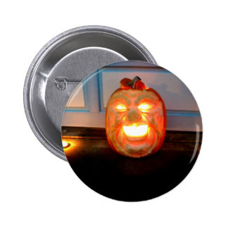 Glowing Cackle Pinback Button