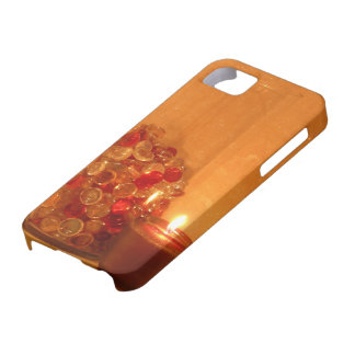 Glowing Candle and Marbles Barely There iPhone Cas iPhone SE/5/5s Case