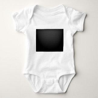 GLOWING CARBON BLACK GRAY DOTS DARK PATTERN BABY BODYSUIT