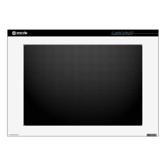 """GLOWING CARBON BLACK GRAY DOTS DARK PATTERN DECAL FOR 15"""" LAPTOP"""
