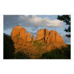Glowing Cathedral Rock Poster 4502