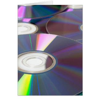 Glowing CD Card