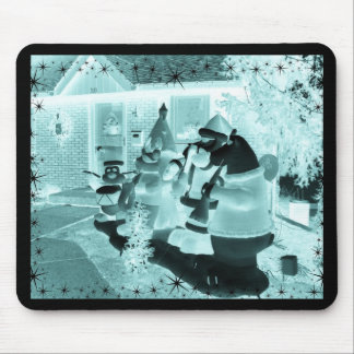 Glowing Christmas themed Products Mouse Pad