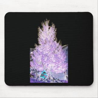 Glowing Christmas Tree themed Products Mouse Pad