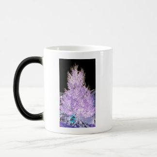 Glowing Christmas Tree themed Products 11 Oz Magic Heat Color-Changing Coffee Mug