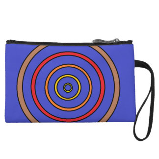 Glowing Circles Cosmetic Bag