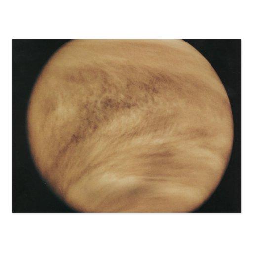 Glowing Clouds Venus Postcards