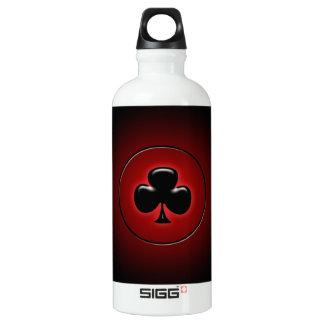 Glowing club card suit SIGG traveler 0.6L water bottle