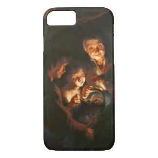 Glowing Coals 1618 iPhone 8/7 Case