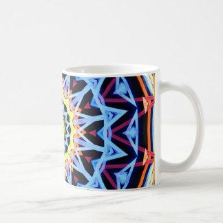 Glowing compass coffee mug