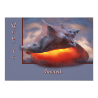 Glowing Conch Card