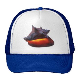 Glowing Conch Trucker Hat