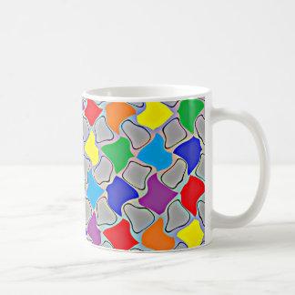 Glowing Dabs of a Rainbow Mug