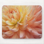 Glowing Dahlia Floral Mousepad