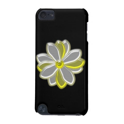 Glowing Daisy Flower iPod Case iPod Touch (5th Generation) Covers