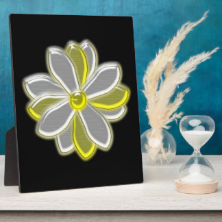 Glowing Daisy Flower Plaque