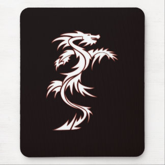 Glowing dragon mouse pad