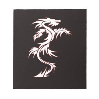 Glowing dragon memo pads