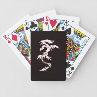 Glowing dragon card decks