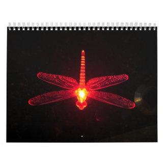 Glowing Dragonfly 2011 Calandar Calendar