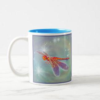Glowing Dragonfly Mug