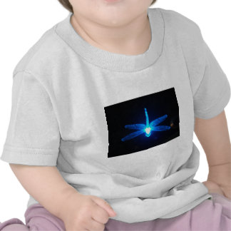 Glowing Dragonfly T Shirts