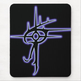Glowing Eye of Vlaxia Black Mouse Pad