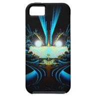 Glowing Eyes Alien Dragon Blue iPhone 5 Covers