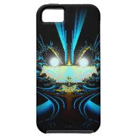 Glowing Eyes Alien Dragon Blue iPhone 5 Covers