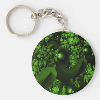 Glowing Eyes Fractal Keychain