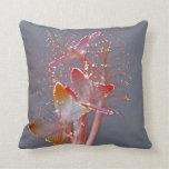 Glowing Fiber Optic Butterflies Pillows