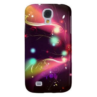 Glowing Flourishes Galaxy S4 Case