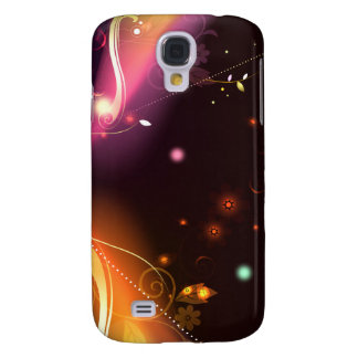 Glowing Flourishes Galaxy S4 Cover
