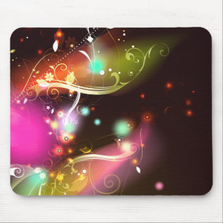 Glowing Flourishes Mouse Pad