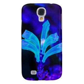 Glowing flower galaxy s4 case