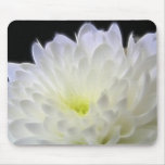 Glowing flower mouse pad
