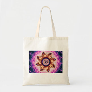 Glowing - Fractal Canvas Bag