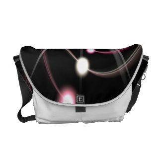 Glowing Fractal Lens Burst - The Coolest Courier Bags