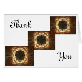 Glowing Frames Greeting Cards
