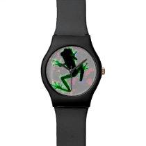 Glowing Frog Wristwatch