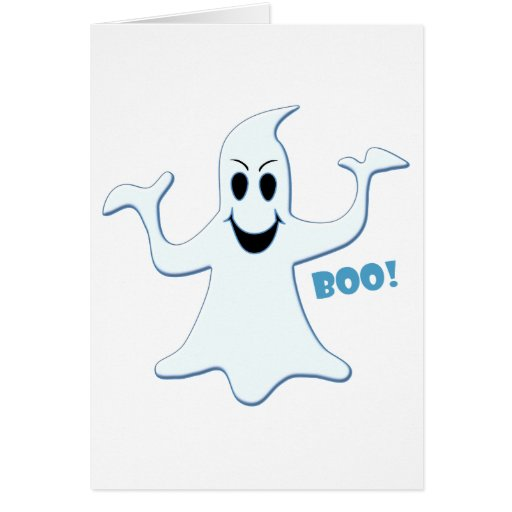 Glowing GHOST Boo! Design Cards