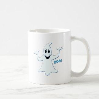 Glowing GHOST Boo! Design Coffee Mug