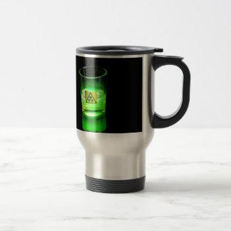 Glowing Glass Travel Mug